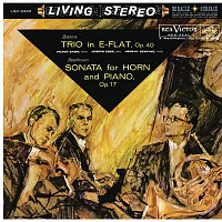 Victor Babin, Johannes Brahms, Joseph Eger, Henryk Szeryng – Brahms: Trio for Piano, Violin and Horn in E-Flat Major, Op. 40 - Beethoven: Sonata for Piano and Horn in F Major, Op. 17