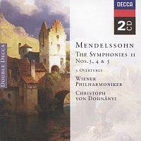 Wiener Philharmoniker, Christoph von Dohnányi – Mendelssohn: Symphonies Nos.3 - 5; The Hebrides, etc. [2 CDs]