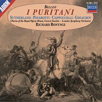 Dame Joan Sutherland, Luciano Pavarotti, Piero Cappuccilli, Nicolai Ghiaurov – Bellini: I Puritani – CD