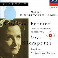 Přední strana obalu CD Mahler: Kindertotenlieder / Brahms: Liebeslieder-Walzer