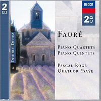 Pascal Rogé, Quatuor Ysaye – Fauré: Piano Quartets & Piano Quintets [2 CDs]