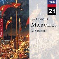 Přední strana obalu CD 40 Famous Marches