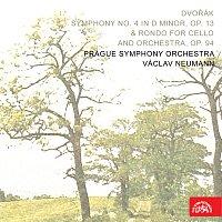 Josef Chuchro, Symfonický orchestr hl.m. Prahy (FOK), Václav Neumann – Dvořák: Symfonie č. 4 d moll, op. 13 & Rondo pro violoncello a orchestr, op. 94
