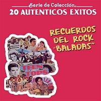 """Various Artists.. – 20 Auténticos Éxitos Recuerdos Del Rock """"Baladas"""""""