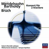 Marielle Labeque, Katia Labeque, Philharmonia Orchestra, Semyon Bychkov – Mendelssohn, Bruch: Konzerte fur 2 Klaviere