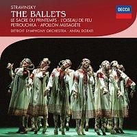 Přední strana obalu CD Stravinsky: The Ballets