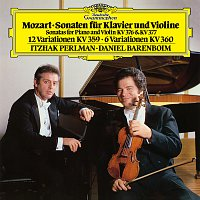 Itzhak Perlman, Daniel Barenboim – Mozart: Sonatas For Piano And Violin, K.376 & K.377; Variations K.359 & K.360