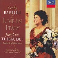 Přední strana obalu CD Cecilia Bartoli - Live in Italy