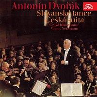 Přední strana obalu CD Dvořák: Slovanské tance, I. a II. řada, op. 46, 72