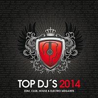 Přední strana obalu CD TOP DJ´s 2014