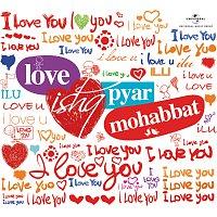 Přední strana obalu CD Love Ishq Pyar Mohabbat