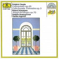 Martha Argerich, Mstislav Rostropovich – Chopin: Cello Sonata; Polonaise / Schumann: Adagio And Allegro