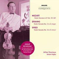 Arthur Grumiaux, Istvan Hajdu – Mozart: Violin Sonata in E Flat; Brahms: Violin Sonata No.2 in A; Grieg: Violin Sonata No.3