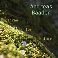 Přední strana obalu CD Three for Nature