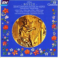 Přední strana obalu CD Boyce: David's Lamentation over Saul and Jonathan