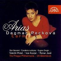 Přední strana obalu CD Árie ze světových oper / Mozart / Mascagni / Leoncavallo / Čajkovskij / Bizet/