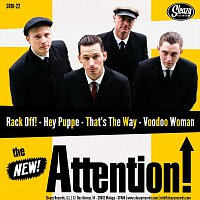 """The New Attention! – Sleazy Records Split 10"""""""