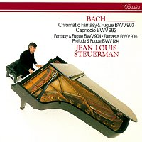 Jean Louis Steuerman – J.S. Bach: Chromatic Fantasy & Fugue & Other Piano Works
