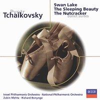 Přední strana obalu CD Tchaikovsky: Swan Lake; Sleeping Beauty; The Nutcracker - Ballet Suites
