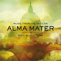 Přední strana obalu CD Alma Mater Featuring the Voice of Pope Benedict XVI