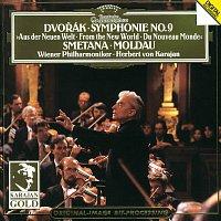 "Wiener Philharmoniker, Herbert von Karajan – Dvorák: Symphony No.9 , Op.95, B. 178  ""From the New World"" / Smetana: The Moldau"