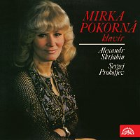 Přední strana obalu CD Mirka Pokorná - klavír