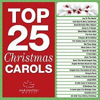 Přední strana obalu CD Top 25 Christmas Carols