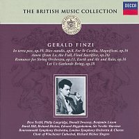 Přední strana obalu CD Finzi: In Terra Pax And Other Vocal Works