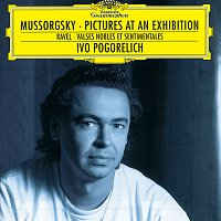 Přední strana obalu CD Mussorgsky: Pictures at an Exhibition / Ravel: Valses nobles