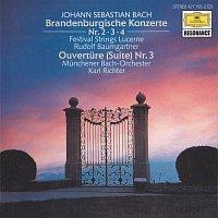 Festival Strings Lucerne, Rudolf Baumgartner, Munchener Bach-Orchester – Bach, J.S.: Brandenburg Concertos Nos.2, 3 & 4; Orchestral Suite No.3, BWV 1068