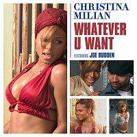 Přední strana obalu CD Whatever U Want [Int'l single]