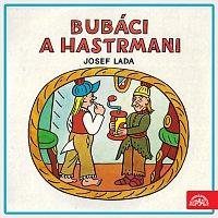 Přední strana obalu CD Lada: Bubáci a hastrmani