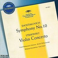Wolfgang Schneiderhan, Czech Philharmonic Orchestra, Berliner Philharmoniker – Stravinsky: Violin Concerto in D / Shostakovich: Symphony No.10, Op.93