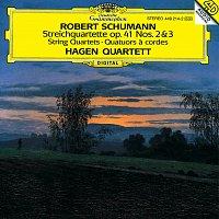 Přední strana obalu CD Schumann: String Quartet Op.41 Nos.2 & 3