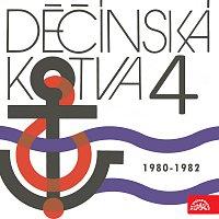 Přední strana obalu CD Děčínská kotva Supraphon 4 (1980 - 1982)