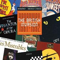 Přední strana obalu CD British Invasion: Broadway 1981-1992