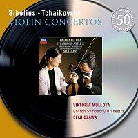 Viktoria Mullova, Boston Symphony Orchestra, Seiji Ozawa – Sibelius / Tchaikovsky: Violin Concertos