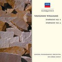 London Philharmonic Orchestra, Sir Adrian Boult – Vaughan Williams: Symphony No.4;  Symphony No.6