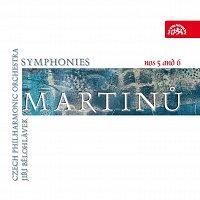 Přední strana obalu CD Martinů: Symfonie č. 5 a 6