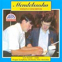 Přední strana obalu CD Mendelssohn-Bartholdy: Koncerty pro housle