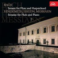 Zuzana Růžičková, Zdeněk Bruderhans a Pavel Štěpánek – Bach: Sonáta pro flétnu a cembalo - Hindemith, Haydn, Messiaen: Sonáty pro flétnu a klavír