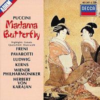 Mirella Freni, Luciano Pavarotti, Christa Ludwig, Robert Kerns, Michel Sénéchal – Puccini: Madama Butterfly - Highlights