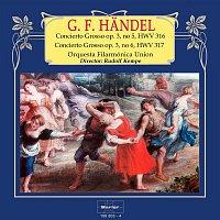 Orquesta Filarmónica Union, Rudolf Kempe – Handel: Concierto Grosso, Op. 3, No. 5 y No. 6