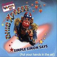 Přední strana obalu CD Simple Simon says (Put your hands in the air)