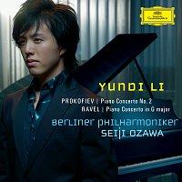 Přední strana obalu CD Prokofiev: Piano Concerto No. 2 in G minor, Op.16, Ravel: Piano Concerto in G major