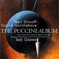 Přední strana obalu CD The Puccini Album