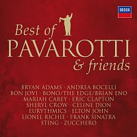 Přední strana obalu CD Best Of Pavarotti & Friends - The Duets