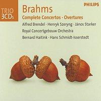 Alfred Brendel, Henryk Szeryng, János Starker, Royal Concertgebouw Orchestra – Brahms: Complete Concertos / Overtures [3 CDs]