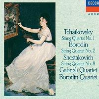 Gabrieli String Quartet, Borodin Quartet – Tchaikovsky: String Quartet No.1 / Borodin: String Quartet No.2 / Shostakovich: String Quartet No.8