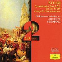 Přední strana obalu CD Elgar: Symphony No. 1; In the South; Pomp & Circumstance